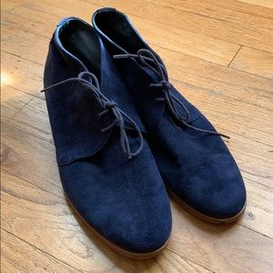 Sexy Tomboy. Blue Suede Shoes. Size 40.